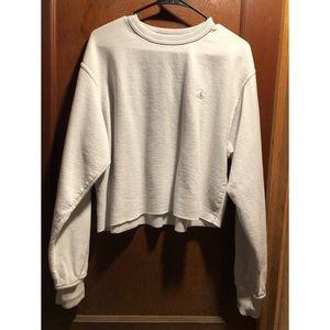 Champion crop sweatshirt